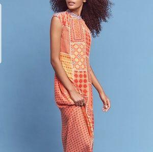 Tanvi Kedia for Anthropologie maxi dress
